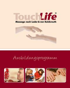 TouchLife Ausbildungsprogramm